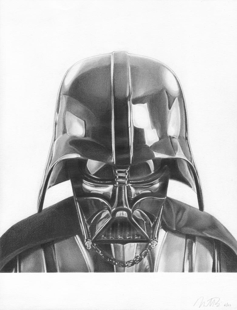 Darth Vader Helmet Drawing Traffic Club
