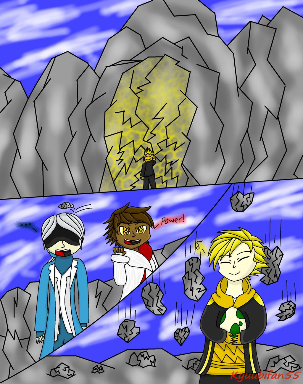 pokemon go comic spark s strength by kyuubifan55 on deviantart