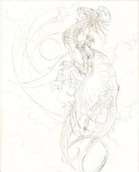 Flight Sketch by puimun