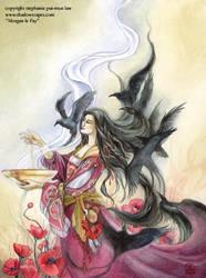 Morgan le Fay by puimun