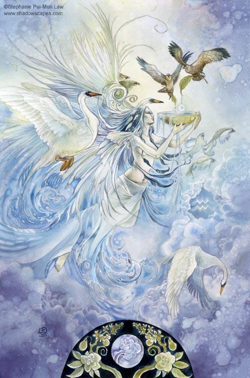 Zodiac - Aquarius by puimun
