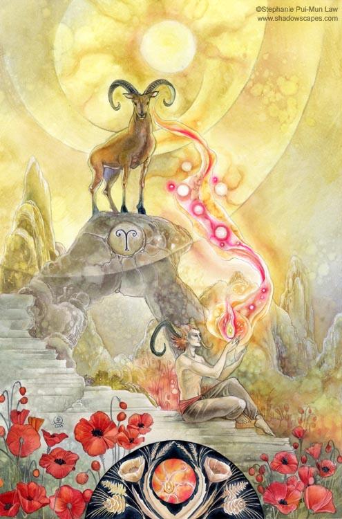Zodiac - Aries by puimun