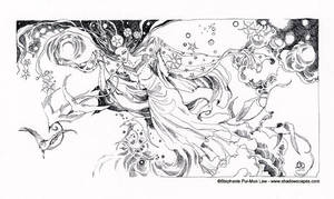 Border - Queen of Swords by puimun