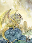 The Dragon and the Hero by puimun
