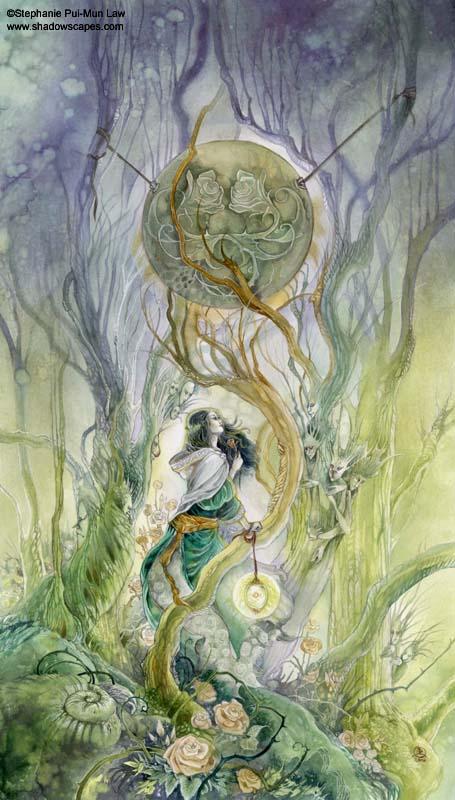 Tam Lin - The Rose by puimun