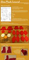 Elmo Plushie Pattern and Tutorial