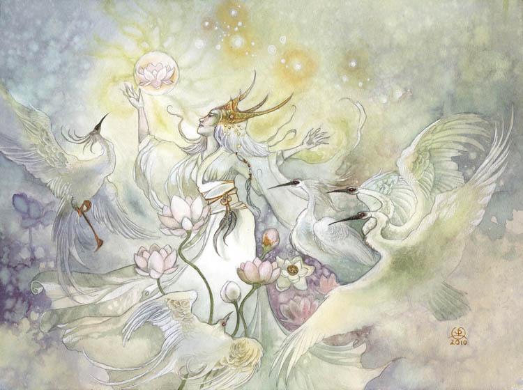 L5R - Wisdom of Fukurokujin by puimun