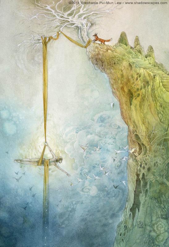 Dreamdance: The Precipice by puimun