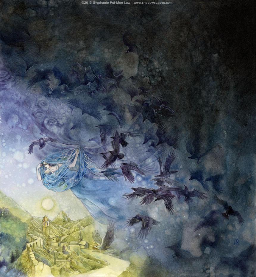 Veil of Night by puimun