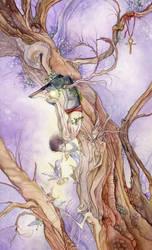 12 - Hanged Man by puimun