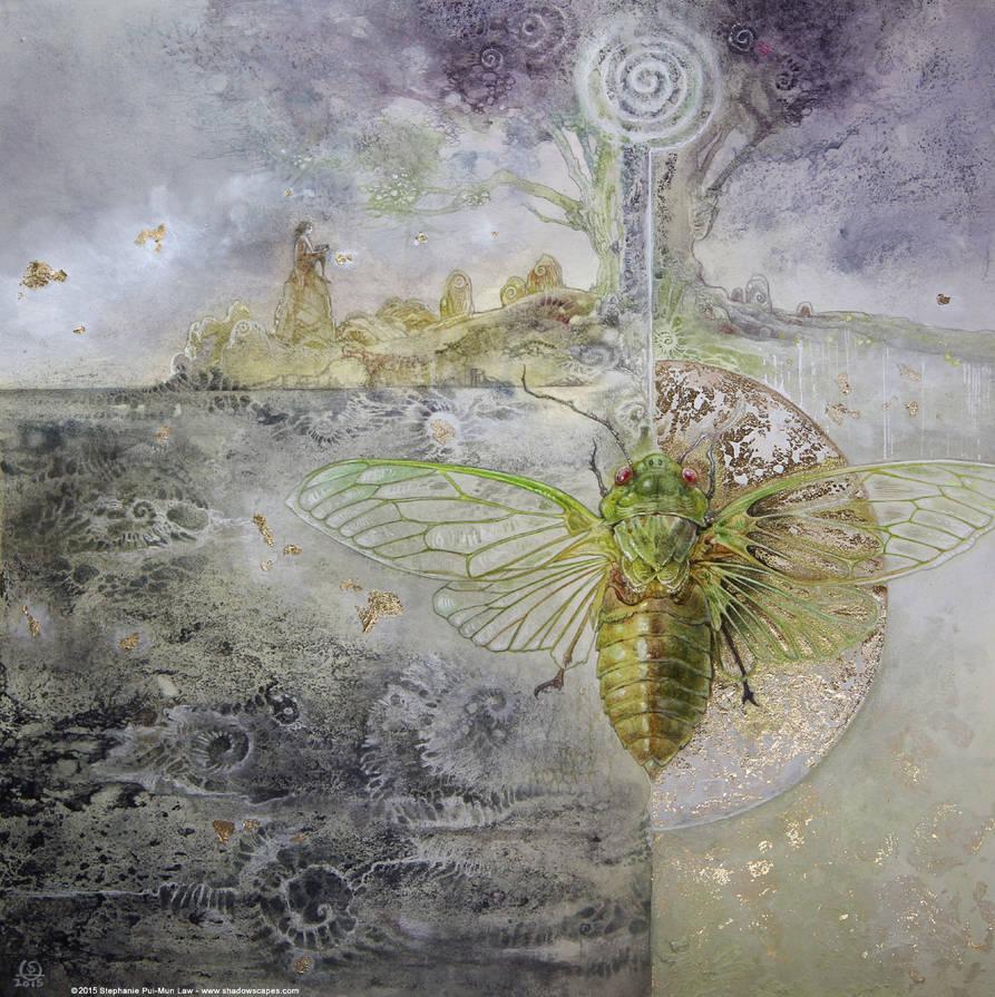 Cicada by puimun