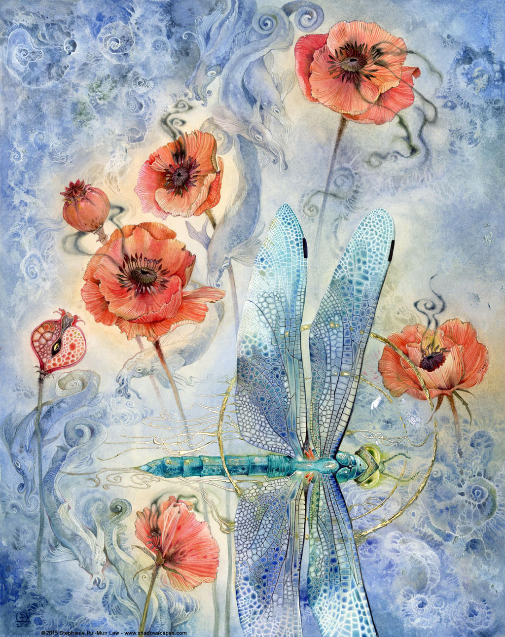 When Flowers Dream II by puimun