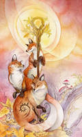 Tarot - Ace of Wands by puimun