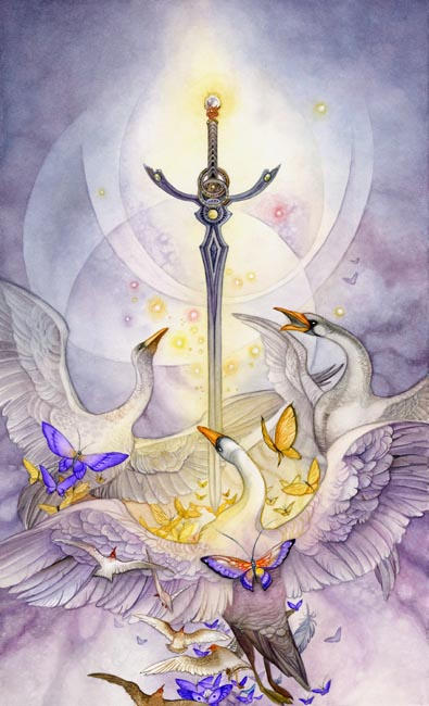 Ace of Swords by puimun