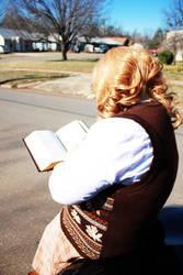 Reading by izora42