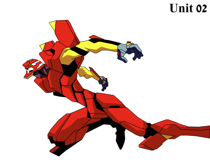 Evangelion Unit 02 by pshbling