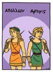 Apollon and Artemis