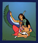 Ma'at and Thoth