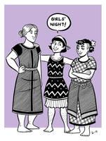 Girls' Night by A-gnosis
