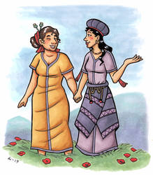 Demeter and Hekate