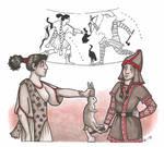 Huntress and Penthesilea