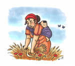 Demeter and Baby Kore