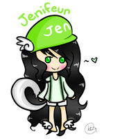 Jenifeur's Drawing Request by iiGurl