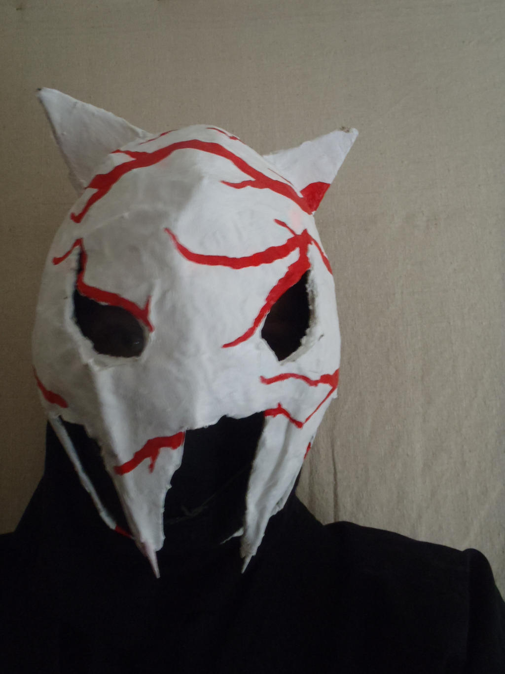 demon cat mask. by MrShinobi