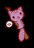 Raccoon Cat by tofu-doll