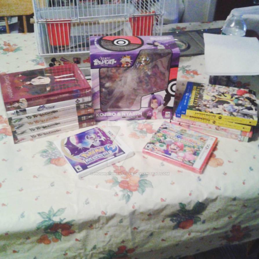 Xmas 2016 gifts by HoshiAnimeStuffs
