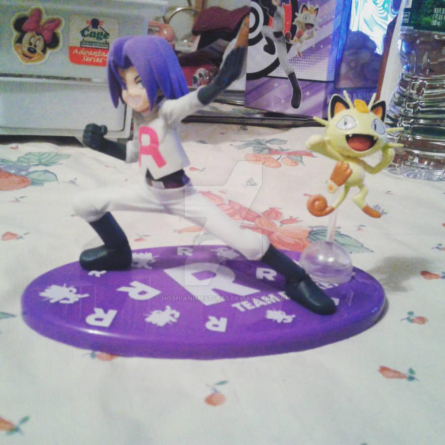 James and Meowth G.E.M. figure by HoshiAnimeStuffs