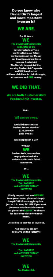 We Are Deviantart - NO ECLIPSE!