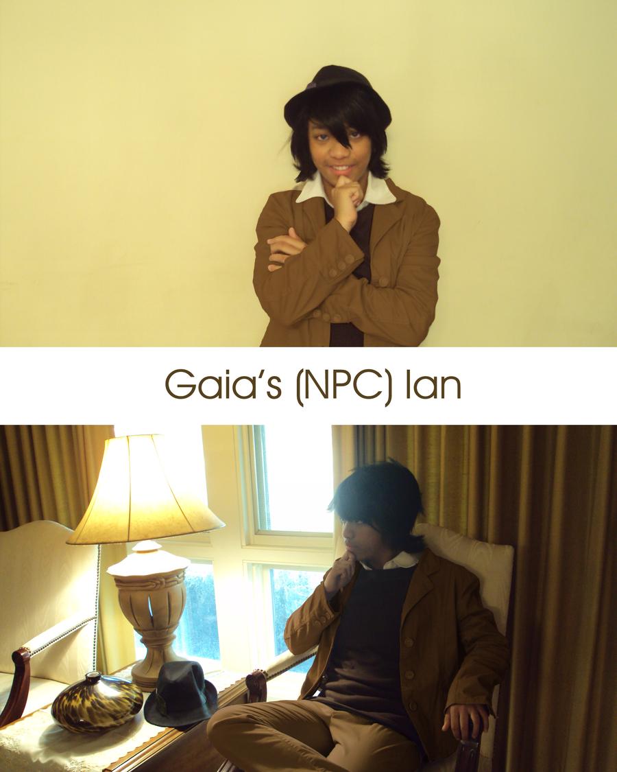 Gaia Cosplay Contest - NPC Ian by tobisempai
