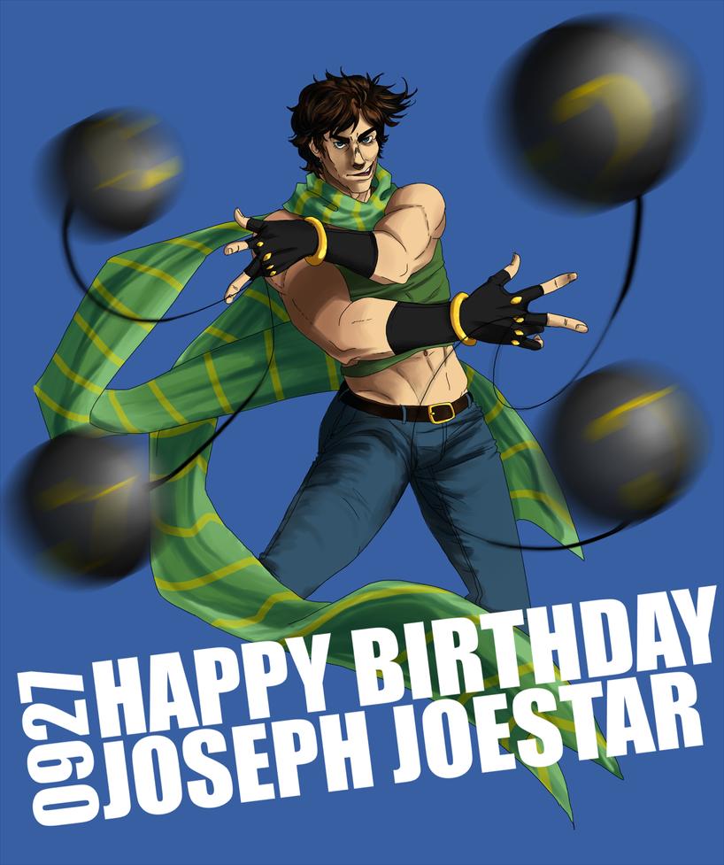 Happy birthday joseph joestar by tobisempai on deviantart - Joseph joestar wallpaper ...