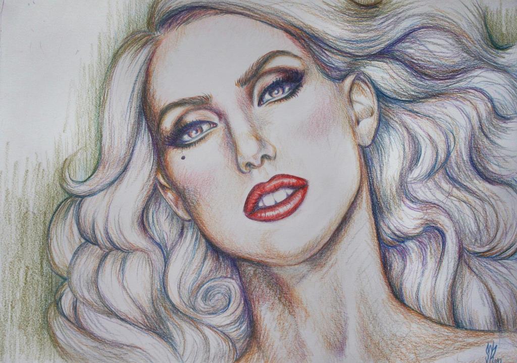 Lady Gaga by ViannaVerena