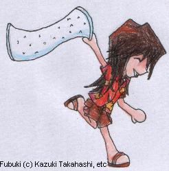Chibi Fubuki for BlueEyesGirl by SamCyberCat