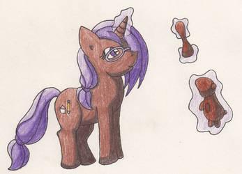 Katwarrior Ponysona by SamCyberCat