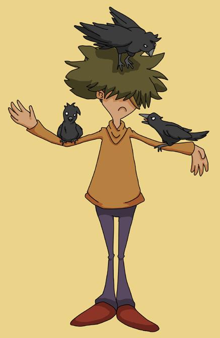 Black Raven Week - Badger by SamCyberCat