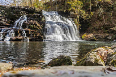 Rutledge Falls in Early Spring