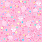 Pink Pastel Goth Pattern