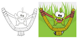 Cut the Rope - Catapult Conception