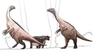 Talarurus objects to Segnosaurus shoutingly