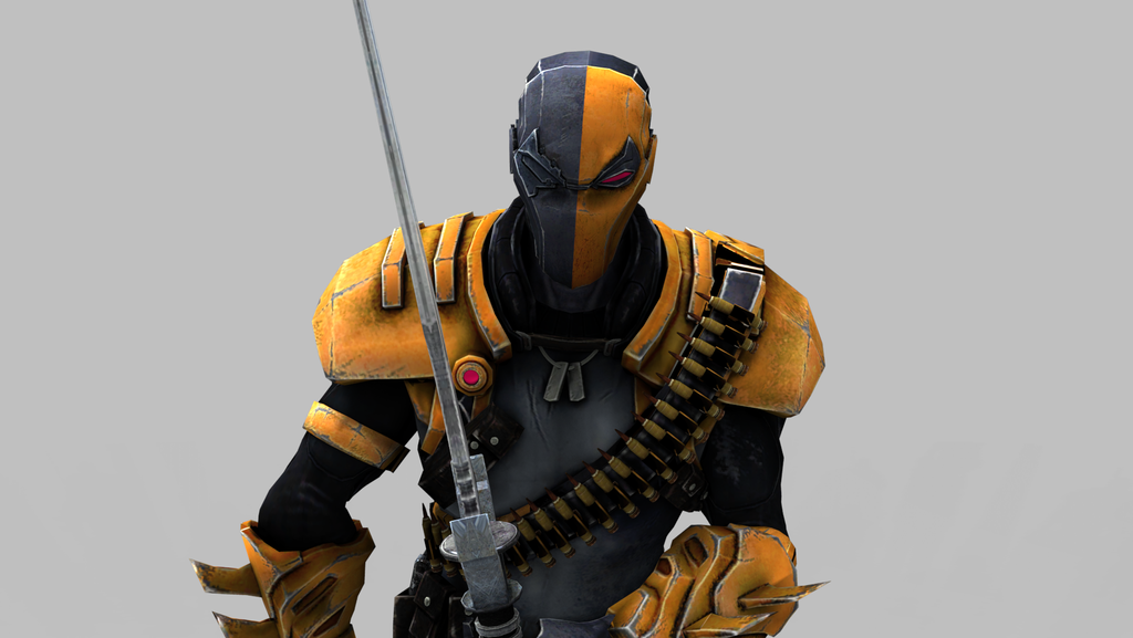 DeathStroke - Keyshot 3 by MrUncleBingo on DeviantArt