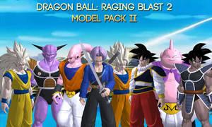 Dragon Ball Raging Blast 2 - Model Pack II