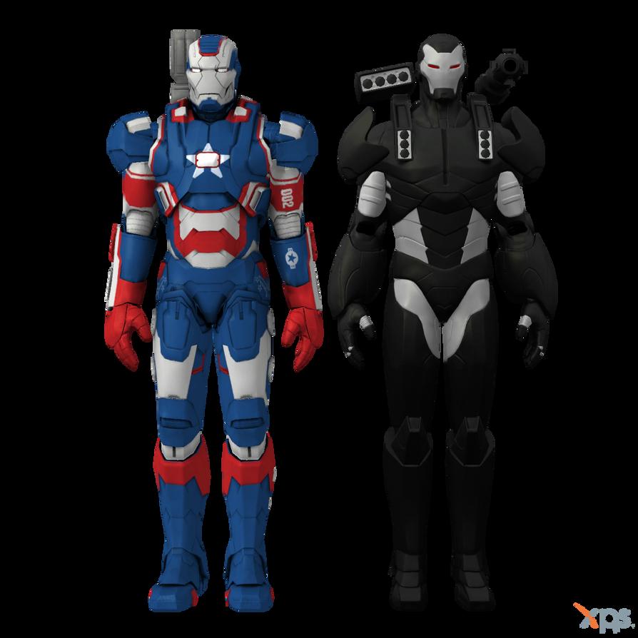 MH - War Machine Pack by Postmortacum