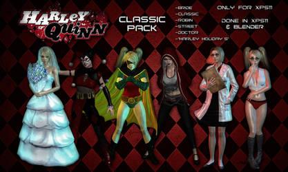 Harley Quinn Model Box - Classic Pack