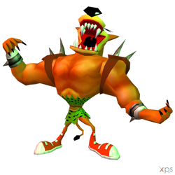 Crash Bandicoot: The Wrath Of Cortex - Tiny Tiger by MrUncleBingo