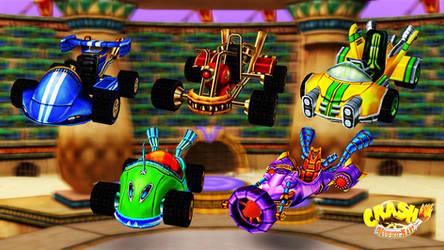 Crash Nitro Kart - Karts Pack