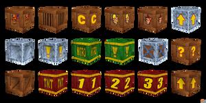 Crash Bandicoot: Wrath Of Cortex - Crates