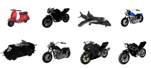 MH - Vehicle Pack #1